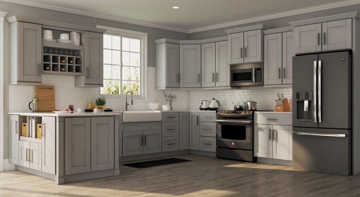 Mẫu Tủ Bếp 1 Tầng Đẹp, Hiện Đại, Giá Rẻ